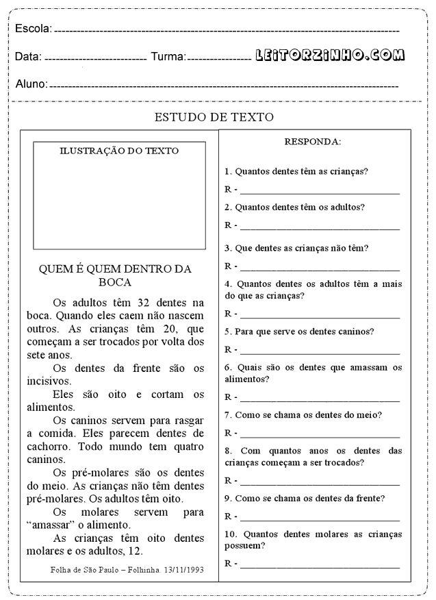Atividades de interpretação de texto para o 4° ano do ensino fundamental com perguntas do tipo: O texto fala de uma grande invenção criada h...