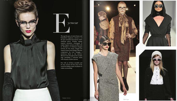 Fashion Forward inside NICHE magazine Winter issue  Read online here: http://www.nichemagazine.ca/digital-editions/winter-2014/