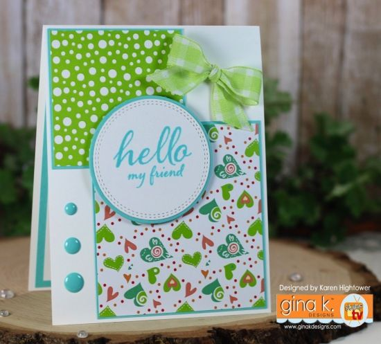 Stamp Tv Kit Addicts Group - Friday Funday - Sketch & Patterned Paper! - stampTV