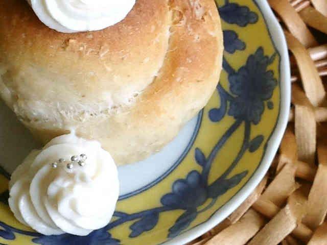 手作り☆レモン豆乳ホイップクリームの画像