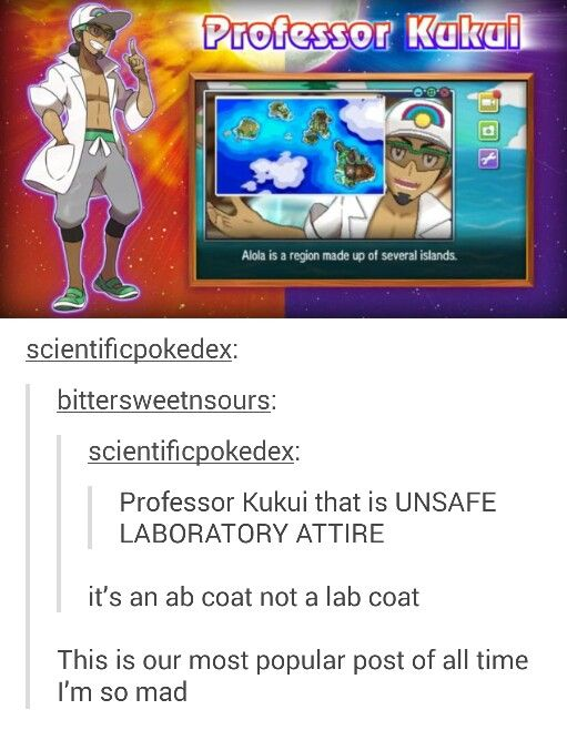 Pokemon Sun and Moon - Ab coat lol, can't wait for the new game to come out tho!