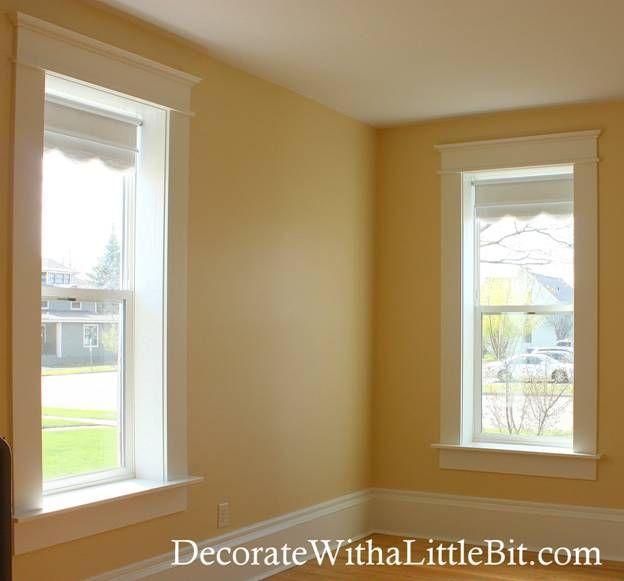 Farmhouse Style Window Trim
