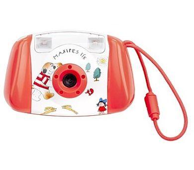 Dětský digitální fotoaparát Gogen Maxipes Fík MAXI FOTO, červená barva…