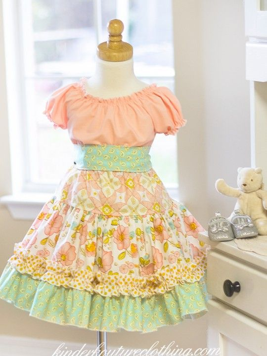 Girls,Infant, Toddler Boutique Clothing http://www.kinderkoutureclothing.com/product/blossom-dress/