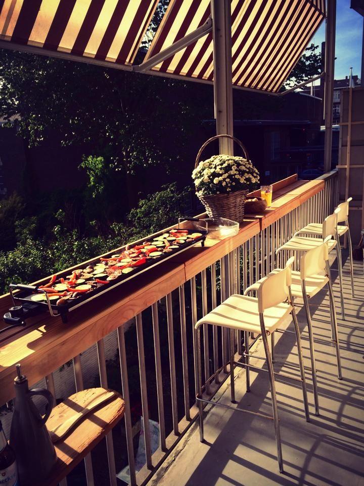 Electric Grills For Apartment Balconies ~ De balkonbar maakt van je balkon een volwaardige