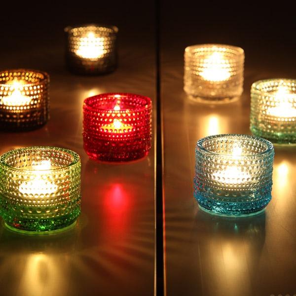 Iittala Kastehelmi Sfeerlicht, lichtblauw