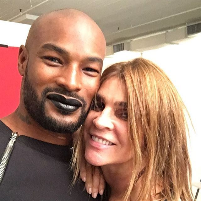 @carineroitfeld @crfashionbook. As a model and Actor I'm always defying what is different,that's the reason it separates me from the average and makes me Super and still killing it 25yrs strong! #tysonbeckford #teamtyson #soulmodels