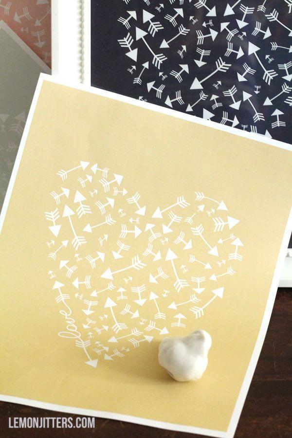 93 best DIY Wall Art + printables images on Pinterest | Diy wall art ...