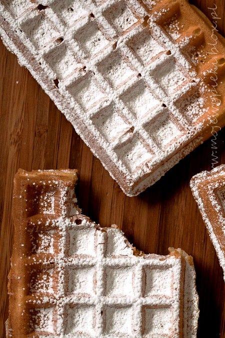 Gofry wg przepisu Michela Roux. Podobno genialne! Trzeba spróbowac! Waffles by Michel Roux. Supposedly brilliant! You must try!