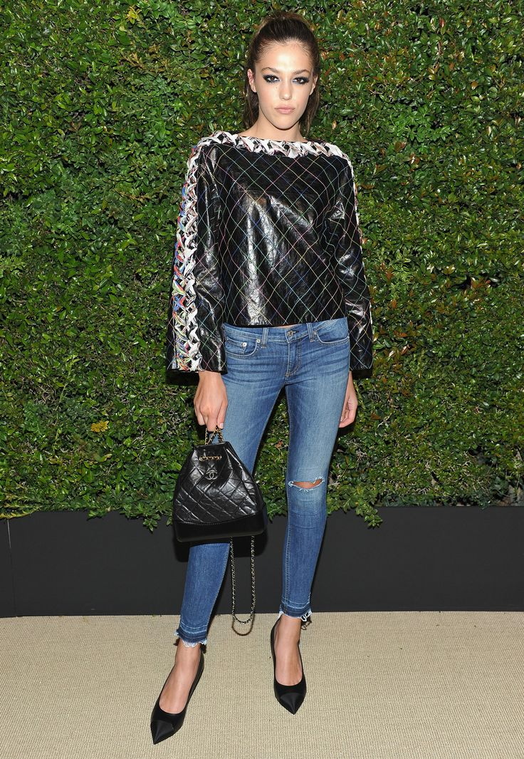 Katy Perry, Pharrell Wear Head-to-Toe Chanel to Fête the New Gabrielle Bag - Sistine Stallone from InStyle.com