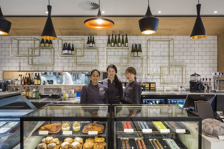 Oko Dessert Kitchen offering specialty desserts, patisserie items and ice cream.  The interior is classic to contrast the contemporary desserts.  #Auckland #Best #Dessert #Hospitality #Retail #Restaurant #Interiors #StudioGascoigne