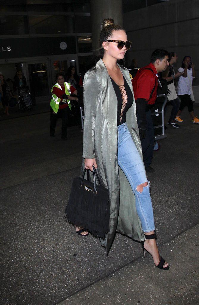 Photos : Palme Fashion : Chrissy Teigen, Kim Kardashian, Bella Hadid... Qui a été la plus stylée cette semaine ?