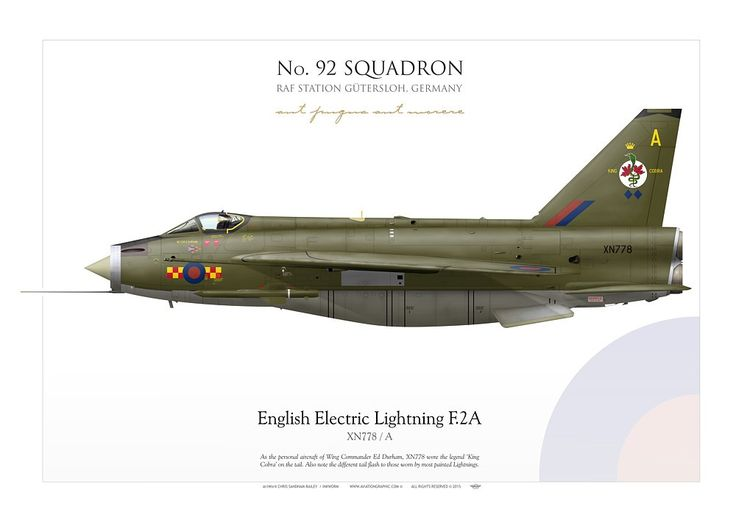 ROYAL AIR FORCE No. 92 Squadron. RAF Station Gutersloh, Germany
