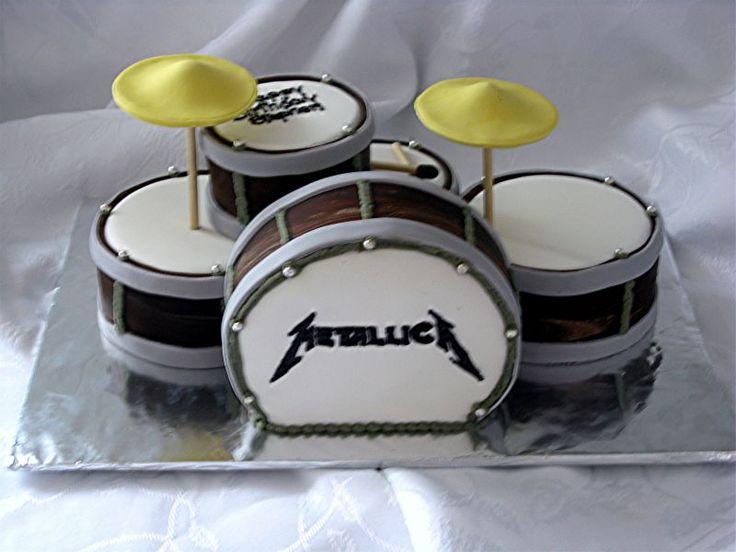 Cake Designs Drum Set : Best 25+ Drum cake ideas on Pinterest Drum birthday ...