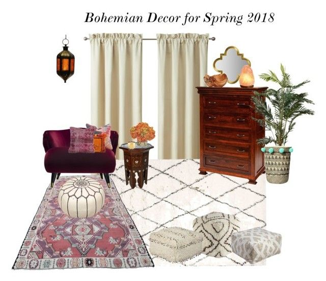Bohemian Decor for Spring 2018 by jennyzellerlutes on Polyvore
