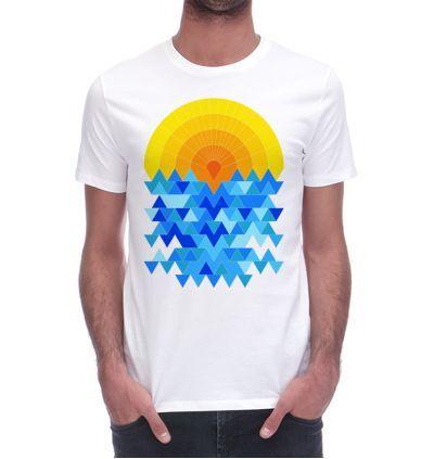 http://www.monsieurtshirt.com/5560/t-shirt-sun-sea.jpg  #fimbis #monsieurtshirt #sun #pattern #blue #style #styleblog #fashion #fashionblogger #fashionblog #styleblogger #tee #designer #tees #abstract #résumé #géométrique #mode #blogdemode #flots #fblogger #coquesiphone #Noël #festive #defête #idéesdenoël #français #christmasgiftideas #jaune #sea #nautique #orange