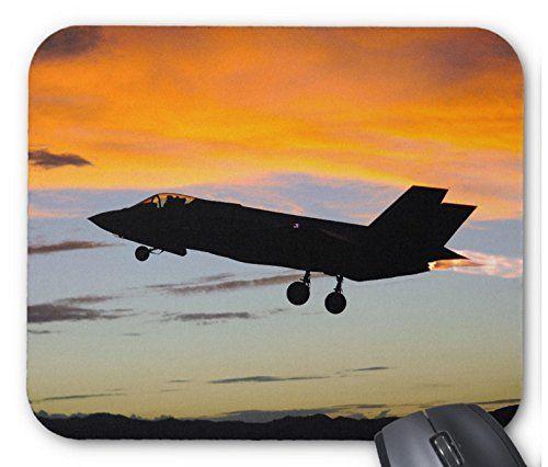 ステルス戦闘機 F-35 のマウスパッド:フォトパッド(世界の戦闘機シリーズ) (B)