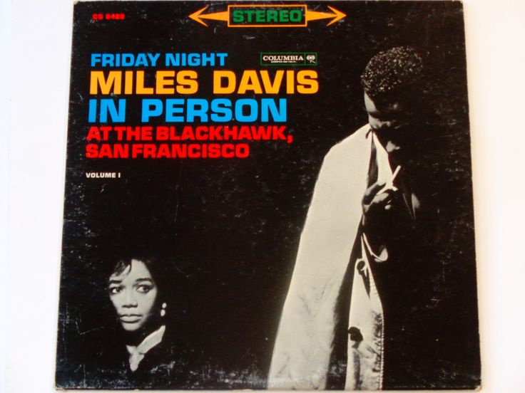 Miles Davis Friday Night in Person at the Blackhawk San Francisco Vol. I - Jazz - Hard Bop - Columbia 1961 - Vintage Vinyl LP Record Album