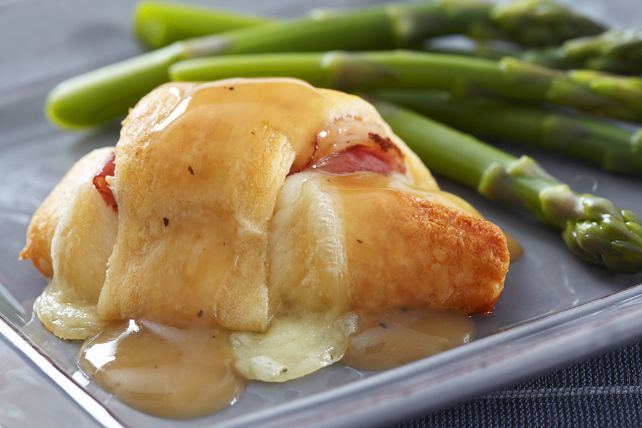 Chicken Cordon Bleu Crescent Rolls These meal can be ready in under 30 minutes prep and cook time.