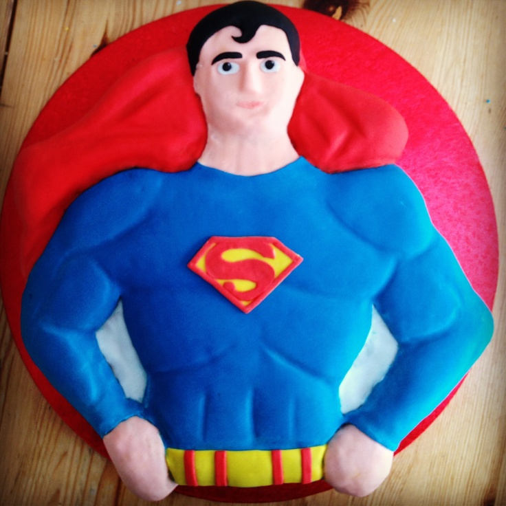 superman template for cake - 29 best superman birthday party images on pinterest