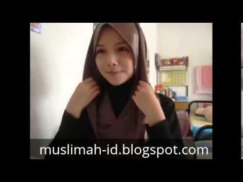 Ramadhan 2015 Tutorial Hijab Paris Segi Empat Sederhana
