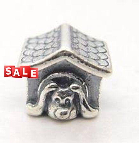 Who Sells Pandora Jewelry: Pandora Charms, Doghouse Charm Bead # 790592EN27