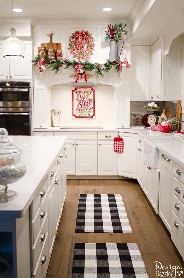 Kitchen christmas decor | Christmas decorations | Pinterest ...
