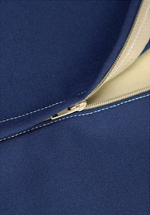How to sew a lapped zipper tutorial, by Tasia St Germaine