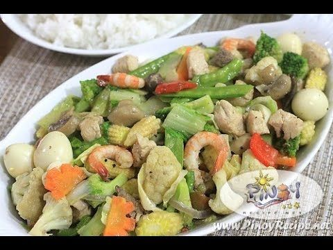 Chopsuey Recipe - Filipino Recipes Portal