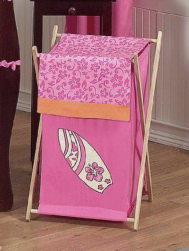 Baby/Kids Clothes Laundry Hamper for Sweet Jojo Designs for Tropical Hawaiian Surf Bedding Sweet Jojo Designs http://www.amazon.com/dp/B003SEBXTW/ref=cm_sw_r_pi_dp_YeW7vb0B0N17X