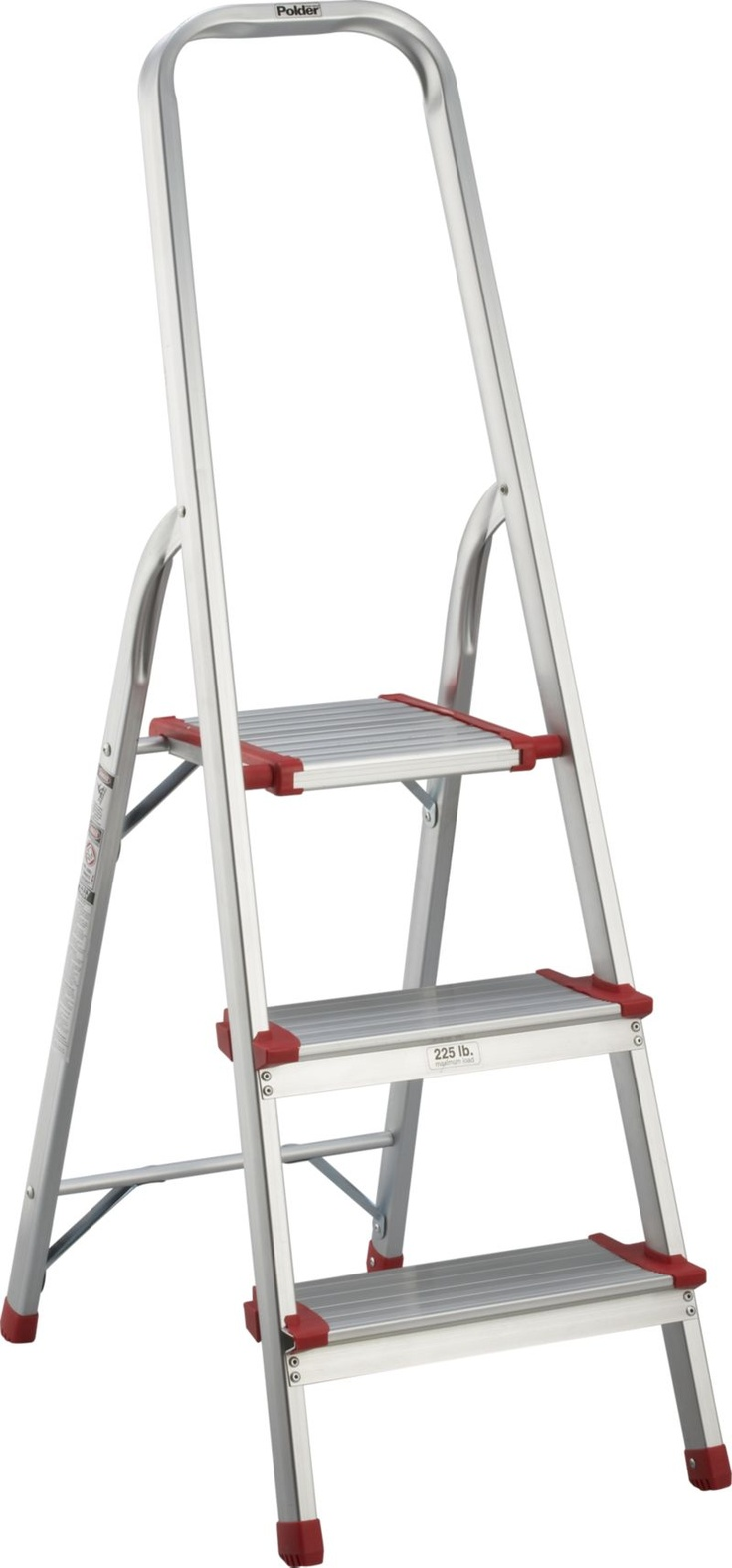3-Step Ladder in Step Stools | Crate and Barrel