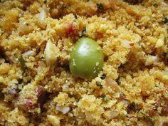 Aprenda a preparar a receita de Farofa molhadinha