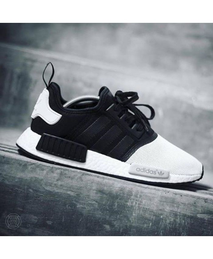 Adidas Nmd Panda Black White Trainers For Cheap Sneakers Men Shoe Boots Sneakers