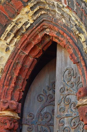 Door to St Magnus Cathedral, Kirkwall, Orkney