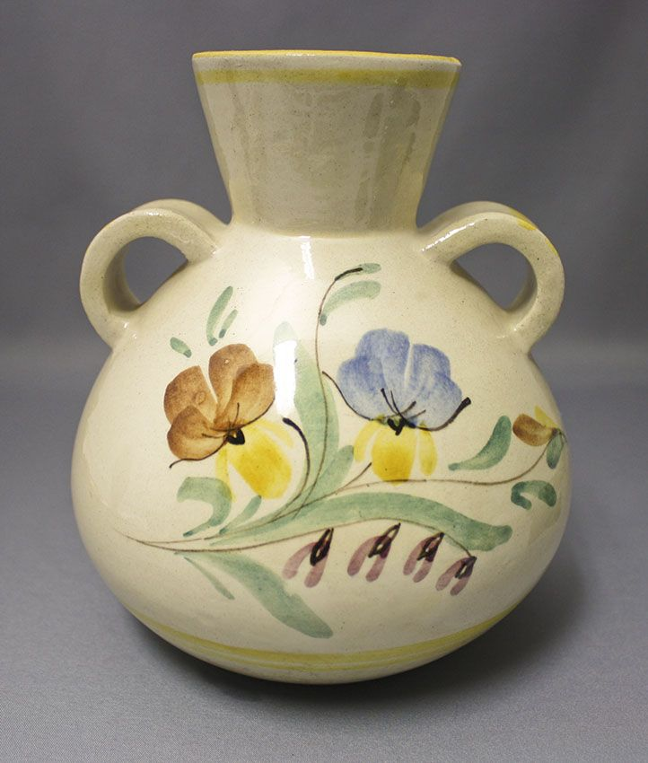 Hand-painted vase, Kupittaan Savi | Shopping Place for Friends of Old Antique Dishware - Dishwareheaven.com