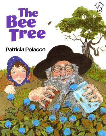 """Jump into a Book explores bees & honey with a look inside The Bee Tree - the first """"book jump"""" of 8 that will correspond with each of the weekly themes of the At-Home Summer Nature Camp eCurriculum hosted by A Natural Nester."""