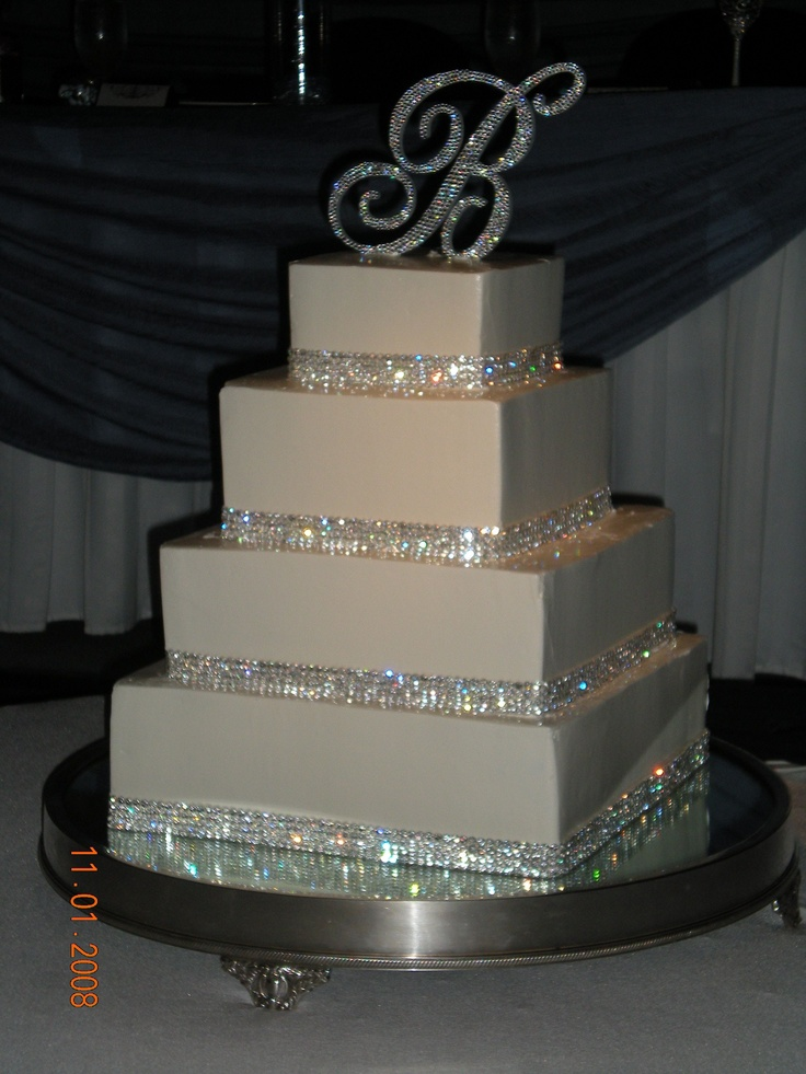 chocolate fudge filling for wedding cake 17 best ideas about bling wedding cakes on 12706
