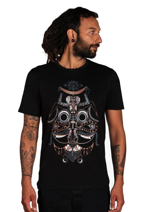 Trance Clothing Son Of Love Men's Tshirt-Alien by CreativeCult