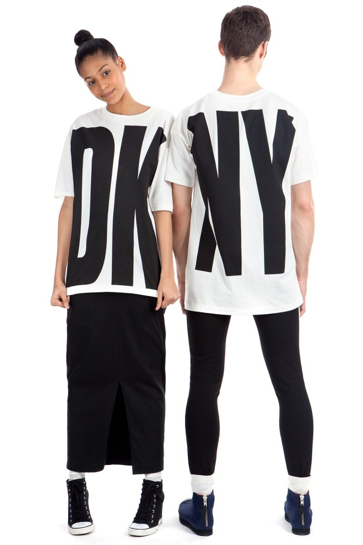 DKNY For  Opening Ceremony // I have a spin off of this shirt in mind that i think will be pretty epic