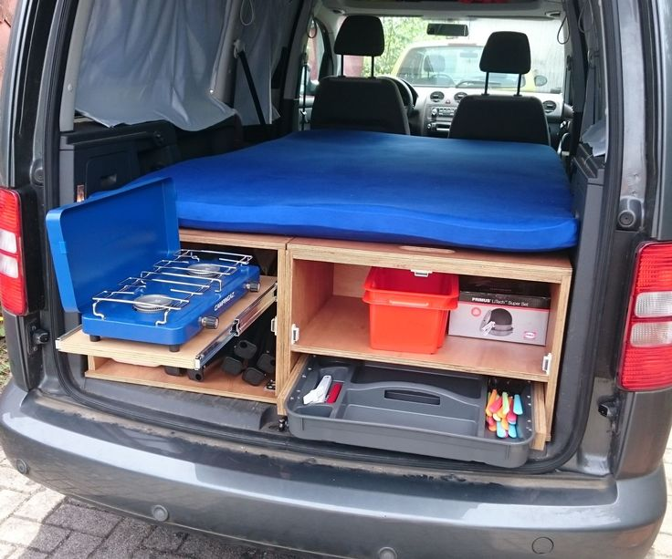 DIY VW Caddy Maxi Camper                                                                                                                                                                                 More
