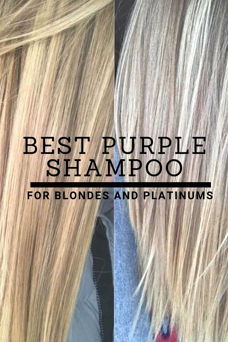 Best Purple Shampoo For Blondes And Platinum Blondes