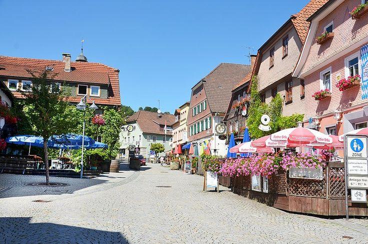 Bad Brückenau - town center