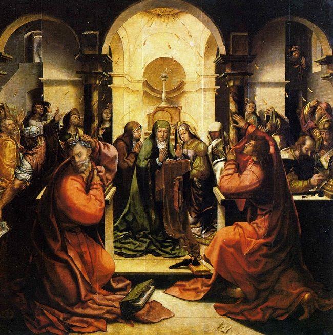 Vasco Fernandes, 'Grão Vasco': Pentecostés, 1535.