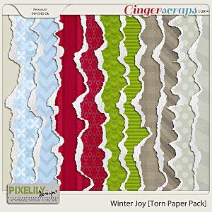 Winter Joy [Torn Paper Pack]