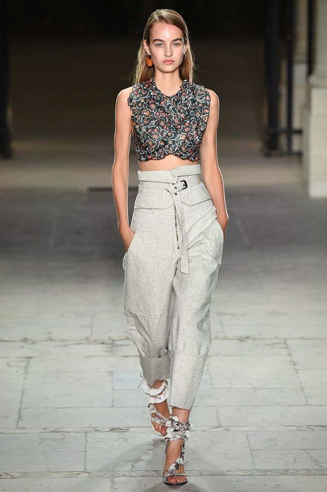 Isabel Marant Spring 2017 Ready-to-Wear Fashion Show