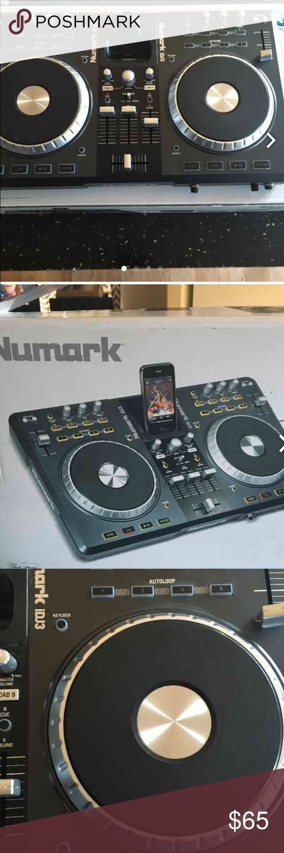 Selling on Mercari. Numark iDJ3 Mixer. Professional DJ mixer. Includes Virual DJ LE mixing software. New with box. Retail Price: $300. Apple 30 pin dock connector. Cords included. Numark Other