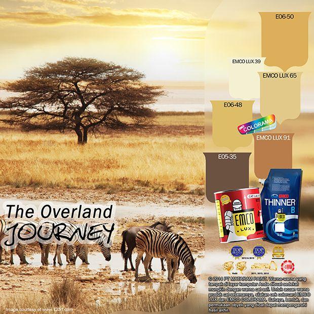 Kawan EMCO, safari memberikan kita pengalaman untuk merasakan dan melihat kehidupan liar para satwa liar. Hadirkan suasana perjalanan safari dalam hunian Anda dengan pilihan warna EMCO LUX 39, EMCO LUX 65, EMCO LUX 91 dipadankan dengan EMCO COLORAMA E05-35, E06-48, E06-50  pada palet EMCO. Intip serunya di >> https://www.instagram.com/p/BEXxo3XAAfm/