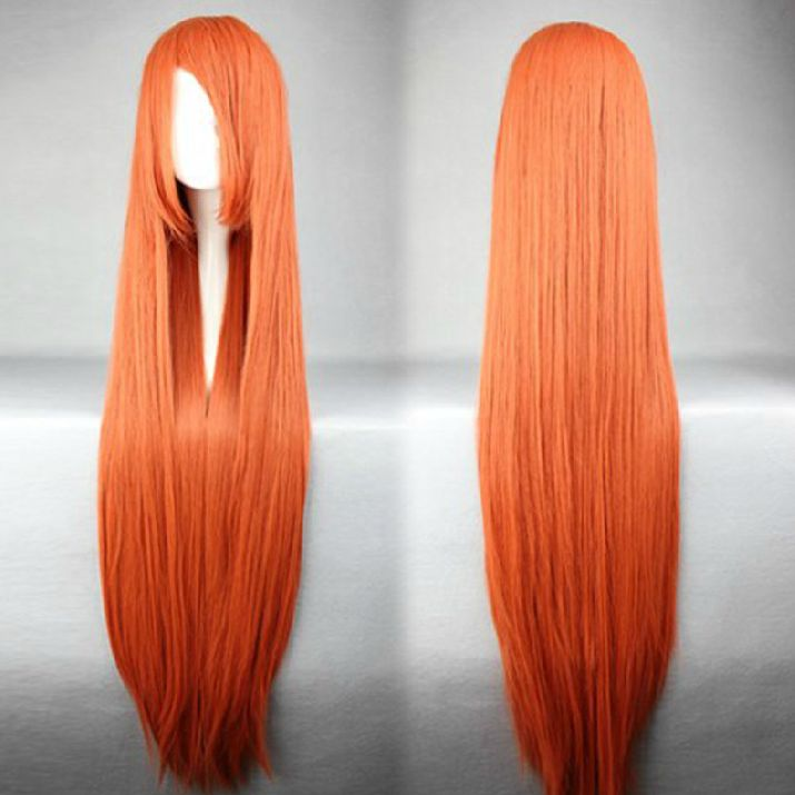 Wig Detail Bleach Inoue Orihime Wig Includes: Wig, Hair Net Length - 100CM Important Information: Fitting - Maximum circumference of 55-60CM Material - Heat Resistant Fiber Style - Comes pre-style as