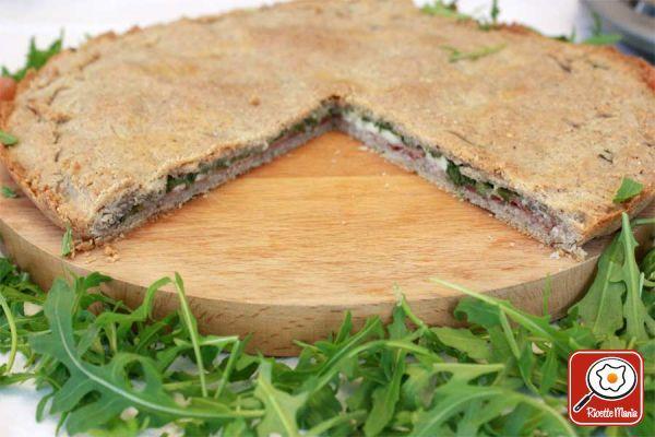 Ricetta Torta salata di grano saraceno per celiaci