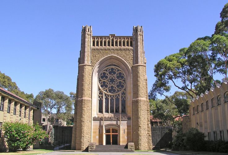 University  of Melbourne (Newman College Chapel